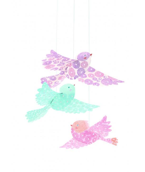 Decoraţie cameră copil, păsări