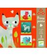 Set puzzle-uri progresive pisicuţe Djeco