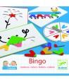 Bingo copii invaţă culori Djeco