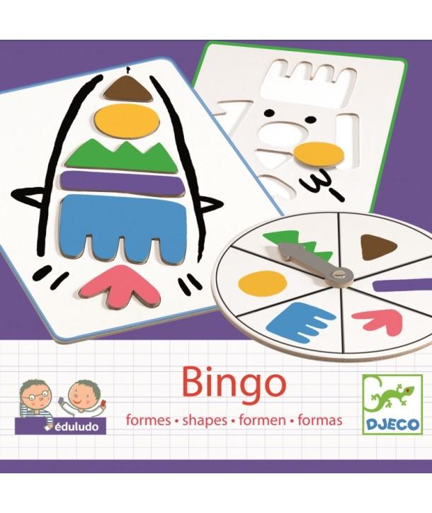 Bingo copii invaţă forme Djeco