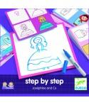 Desenează pas cu pas, pentru fete