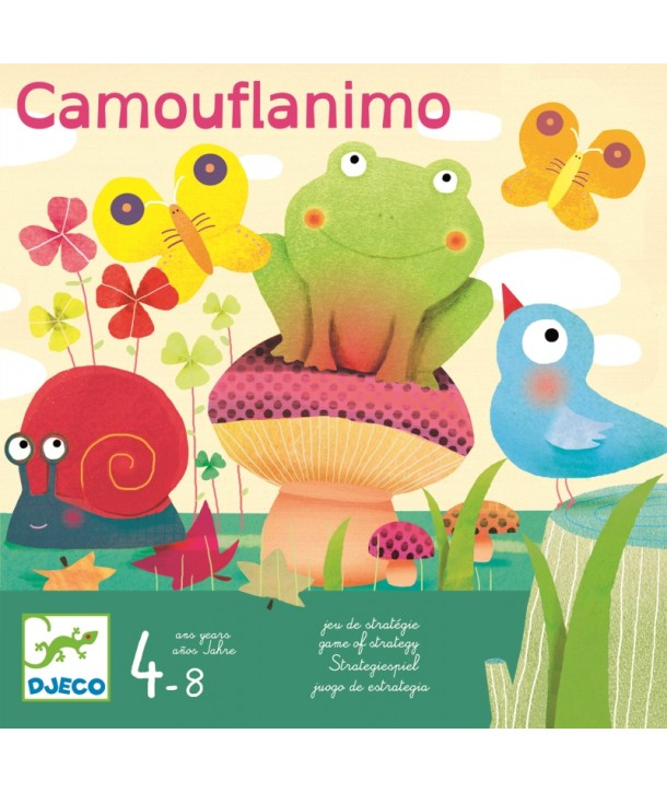 Joc de strategie Djeco Camouflanimo