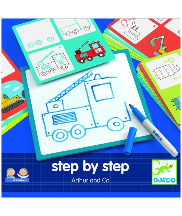 Desenează pas cu pas, pentru băieți